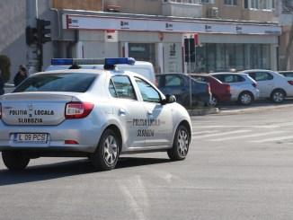 Poliția Locală Slobozia. FOTO Adrian Boioglu