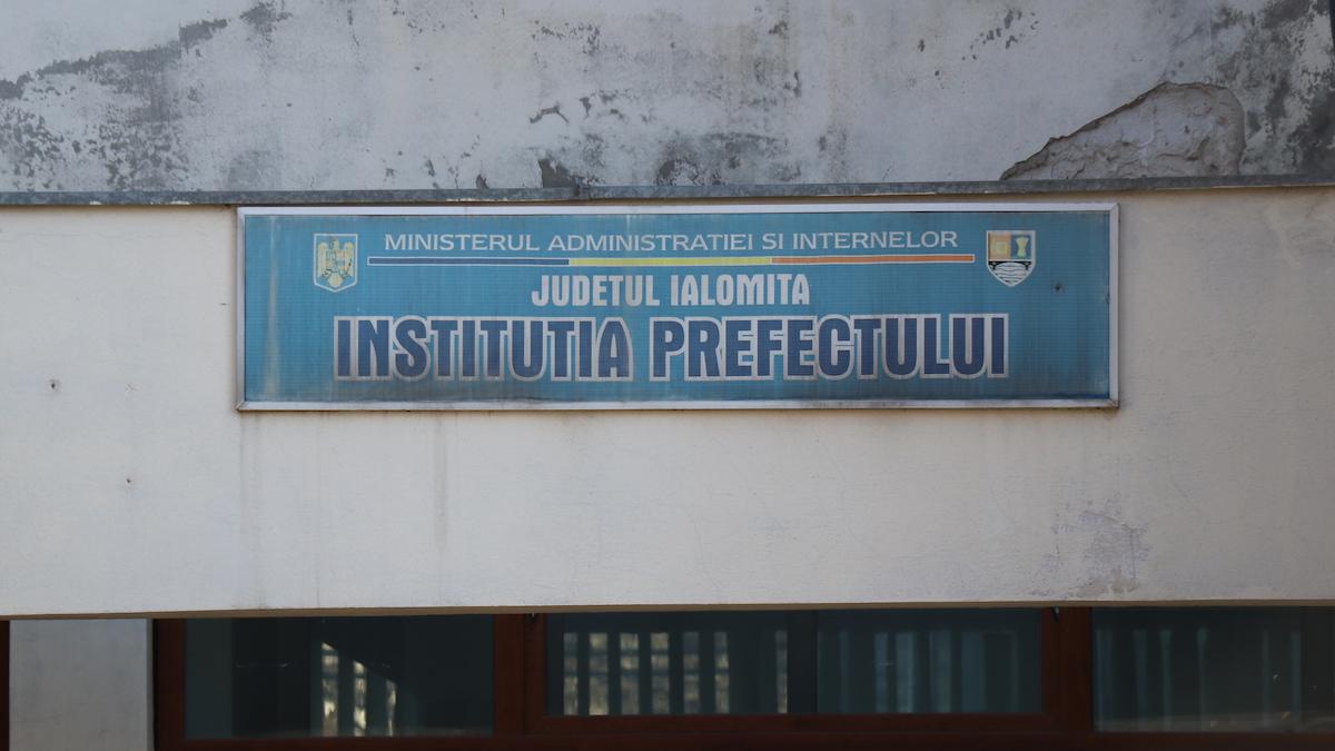 Prefectura județului Ialomița. FOTO Adrian Boioglu
