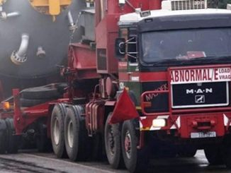 Un transport agabaritic va traversa județul ialomița. FOTO DRDP Constanța