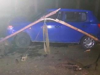Accident rutier pe raza orașului Țăndărei. FOTO IPJ Ialomița