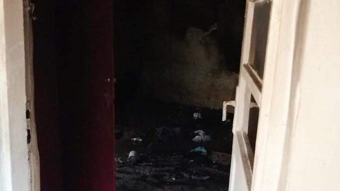 Incendiu la o casă în orașul Țăndărei. FOTO ISU Ialomița