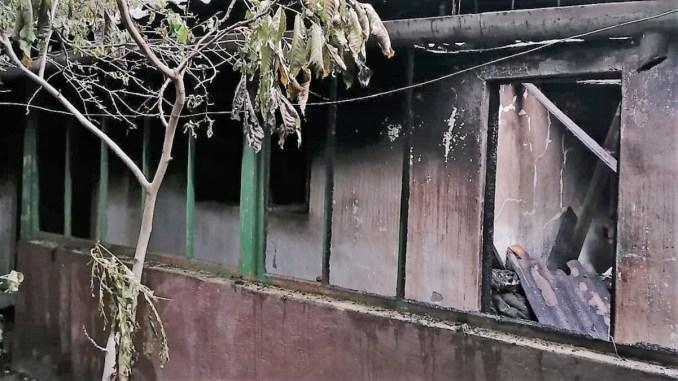 Viață curmată într-un incendiu în comuna Grivița. FOTO ISU Ialomița