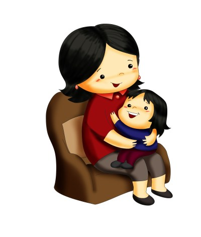 mamma e bimbo