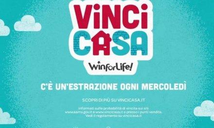 Estrazione Vincicasa Win For Life. I numeri vincenti di oggi mercoledì 12 luglio