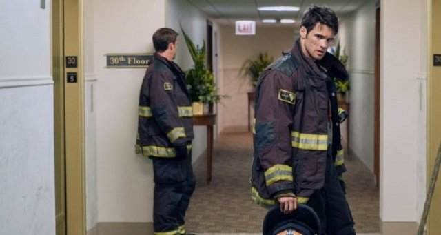 """CHICAGO FIRE -- """"I Walk Away"""" Episode 403 -- Pictured: Steve McQueen as Jimmy -- (Photo by: Elizabeth Morris/NBC)"""