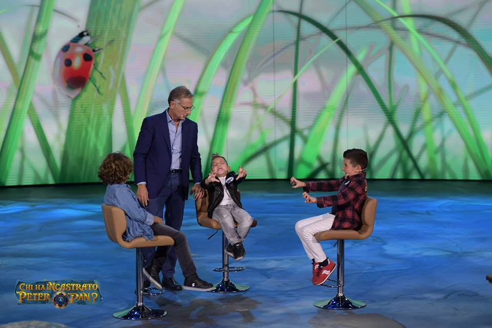 Santiago De Martino debutta in tv, Belen: