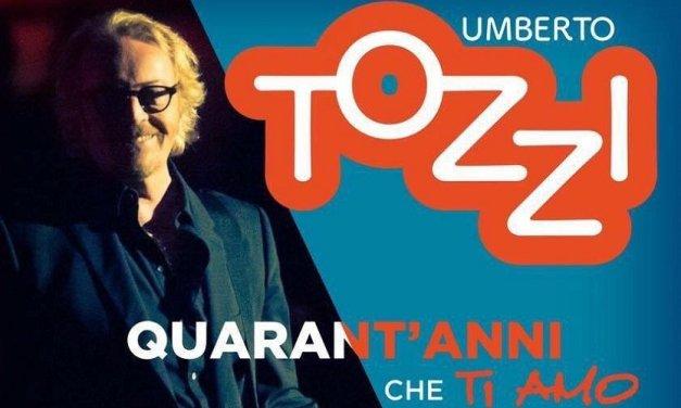 Quarant'anni che ti amo, Umberto Tozzi in tv con il concerto di Verona