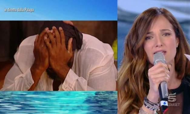 Angela Rende, la sorpresa al marito Amaurys Perez | Isola dei Famosi 2018