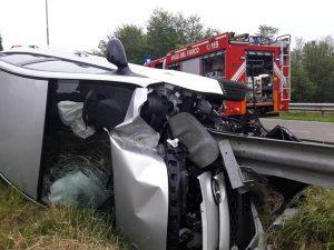 Due incidenti gravi in poco più di un'ora; sveglia agitata sulle strade di Lazzate