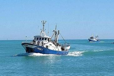 Chiamato di imbarco su un motopesca