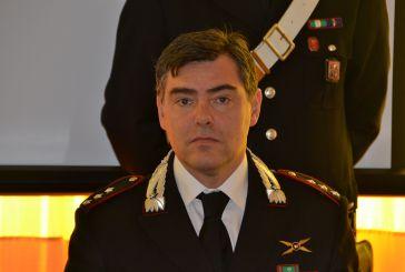 Il maggiore Giancarlo Vitiello lascia il comando della Compagnia Carabinieri