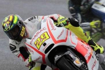 Spagna da dimenticare per Iannone che cade al terzo giro