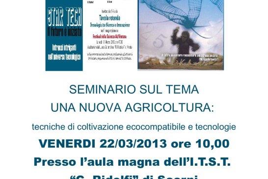 locandina - seminario nuove tecniche di coltivazione