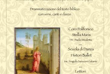La storia di Ester, stasera presso la cattedrale di San Giuseppe