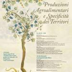 Manifesto Convegno Agroalimentare e Territorio