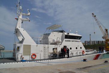 È già attraccato al porto di Vasto il primo pattugliatore diretto in Tunisia