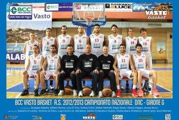 Bcc Vasto Basket, il sogno della Serie B si è avverato