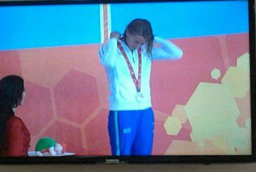Prima medaglia per la giovane vastese Giulia De Ascentis