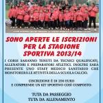 Gianima Soccer, scuola calcio 2013-2014
