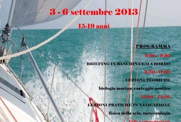 Scienza dell'onda e della vela, attività didattiche a terra e a bordo