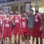 BCC Vasto Basket con la coppa, a Isernia, 15 set 13