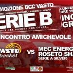 BCC Vasto Basket, locandina amichevole 23 set 13