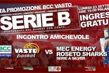 Bcc Vasto Basket, tre giorni intensi per festeggiare il ripescaggio in Serie B