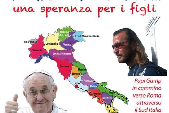 Manifesto Papi Gump - Verso Francesco