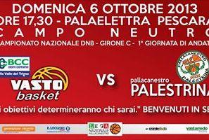 Bcc Vasto Basket, esordio domenica a Pescara in campo neutro contro Palestrina