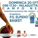 BCC Vasto Basket, gara 20 ott 13, locandina