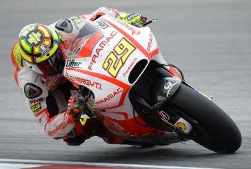 Le Mans amaro per Andrea Iannone che cade già nel secondo giro