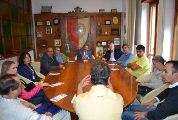 I rappresentanti della Cna incontrano il sindaco Lapenna