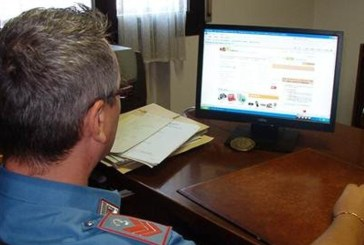 Ancora truffe online, 5 denunce dei carabinieri
