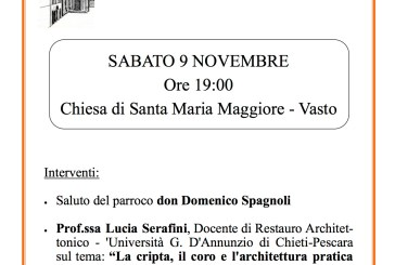 Conferenza su restauro di urna e cripta di S. Cesario