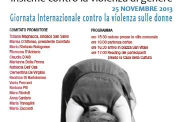 San Salvo: contro la violenza sulle donne la manifestazione