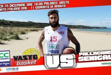 Bcc Vasto Basket domani in campo per la sesta vittoria consecutiva