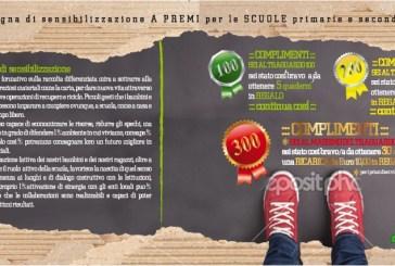 Campagna di sensibilizzazione a premi per le scuole