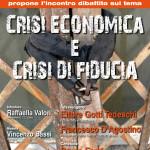 Locandina Crisi economica e crisi di fiducia