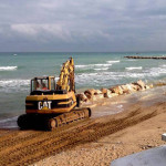 Casalbordino (Chieti): lavori per barriere di contrasto all'erosione della costa