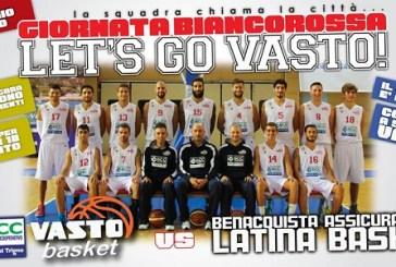 DnB, Vasto Basket: sfida d'alta quota, al PalaBcc arriva la capolista Latina