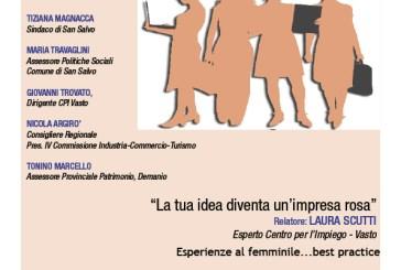 San Salvo: nel mese dedicato alla donna si parla di creatività e impresa femminile