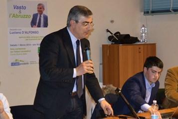 Primarie del centrosinistra, Luciano D'Alfonso come Renzi: