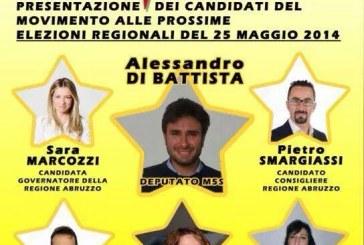 Sarà Alessandro Di Battista a presentare i candidati del M5S