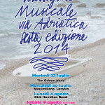 RASSEGNA MUSICALE VIA ADRIATICA 2014 SESTA EDIZIONE