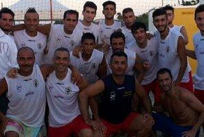 Vasto, il beach soccer al Super Eight 2014