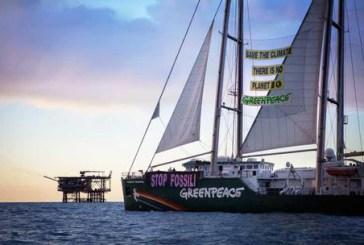 Vasto, arriva la nave Greenpeace