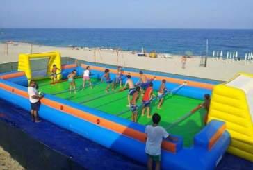 2° Torneo Calcio balilla umano on the beach