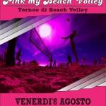 pink beach volley