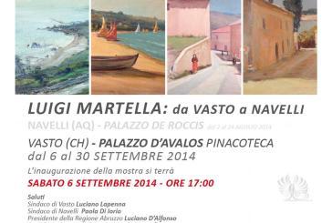 A Vasto la mostra di pittura di Luigi Martella