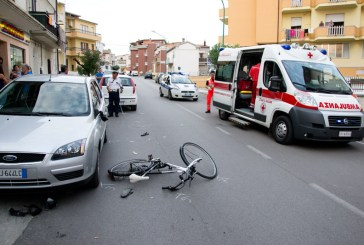 Incidente a San Salvo, due giovani in ospedale